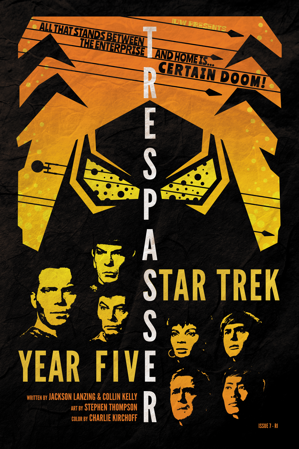 STAR TREK YEAR FIVE #7 10 COPY INCV LENDL