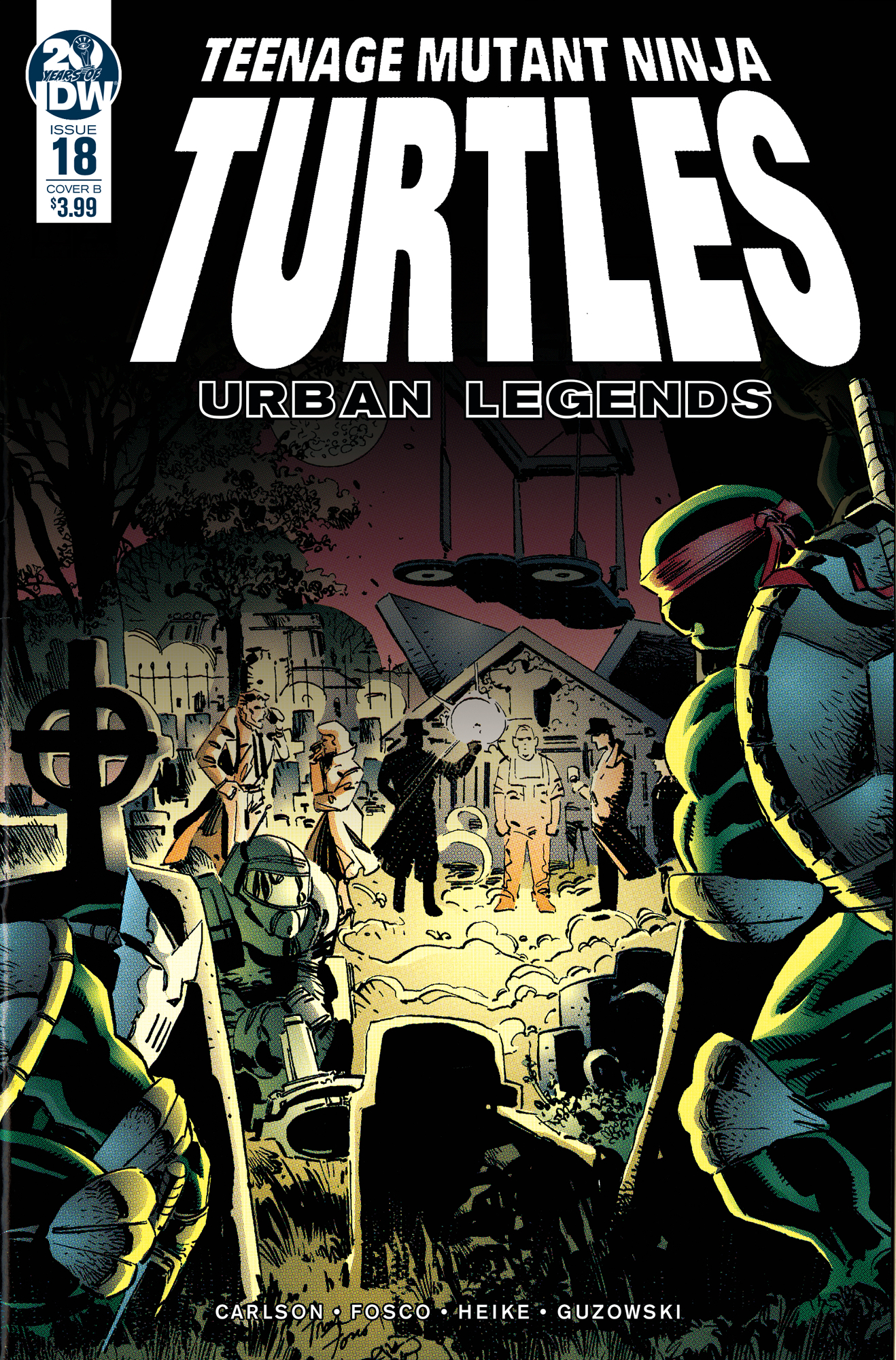 TMNT URBAN LEGENDS #18 CVR B FOSCO & LARSEN