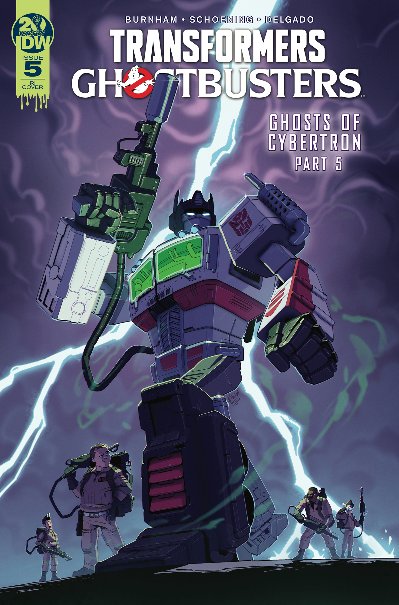 TRANSFORMERS GHOSTBUSTERS #5 (OF 5) 10 COPY INCV STANLEY (NE