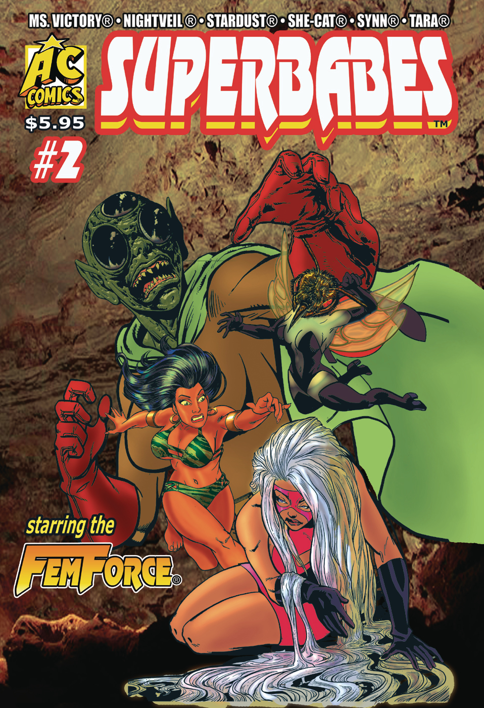 SUPERBABES STARRING FEMFORCE #2