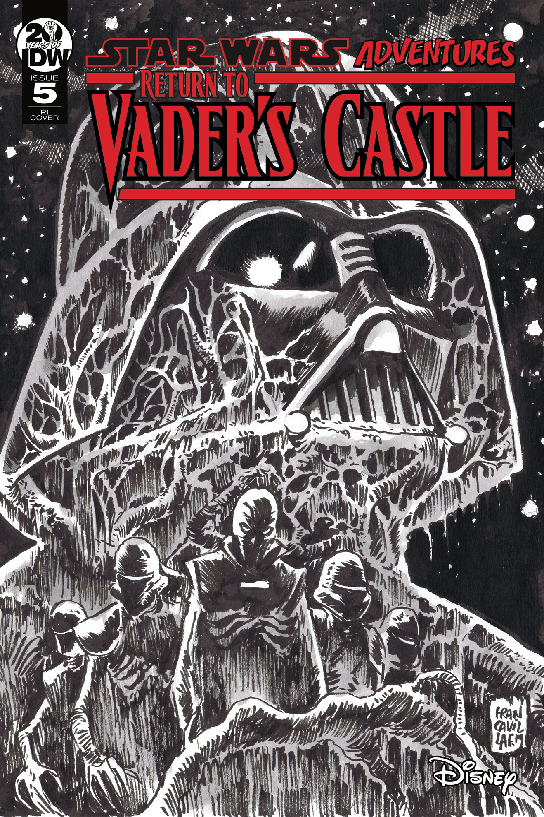 STAR WARS ADVENTURES RETURN TO VADERS CASTLE #5 10 COPY INCV