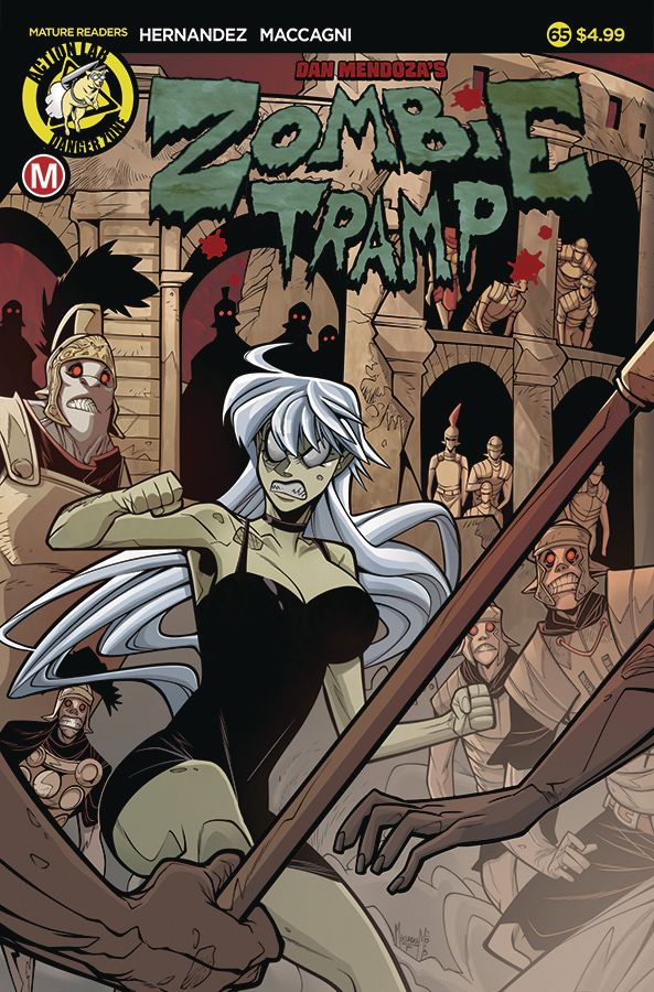 ZOMBIE TRAMP ONGOING #65 CVR A MACCAGNI (MR)