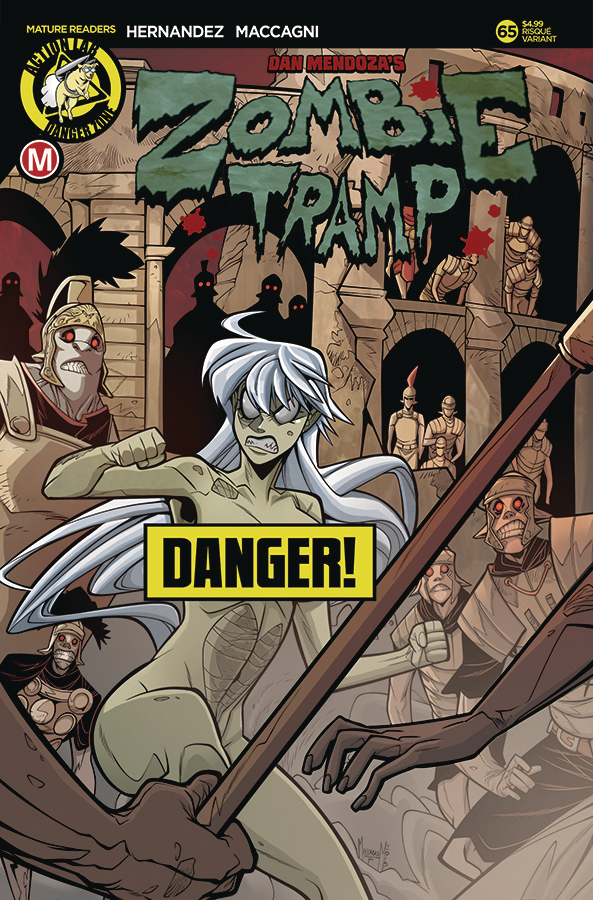 ZOMBIE TRAMP ONGOING #65 CVR B MACCAGNI RISQUE (MR)