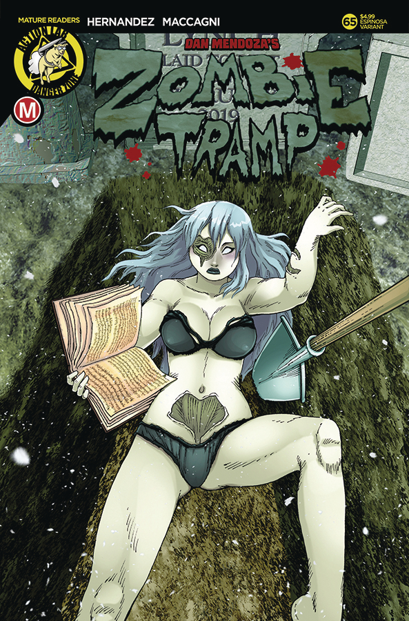 ZOMBIE TRAMP ONGOING #65 CVR C ESPINOSA VAR (MR)