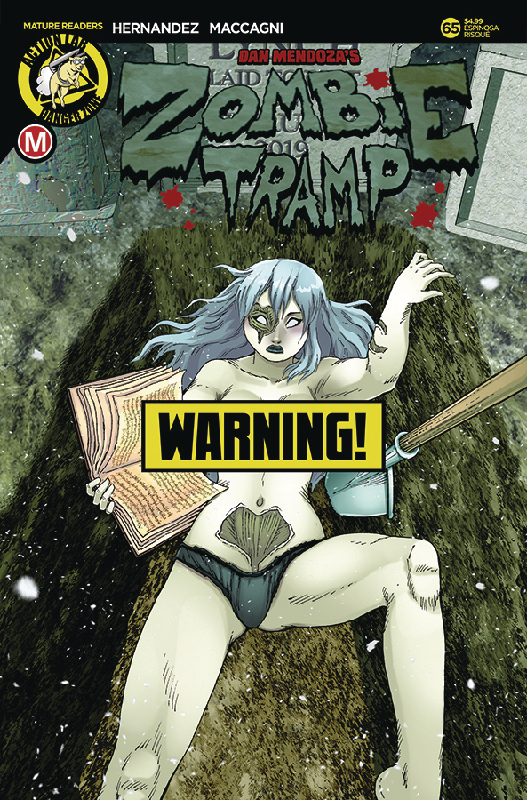 ZOMBIE TRAMP ONGOING #65 CVR D ESPINOSA RISQUE (MR)