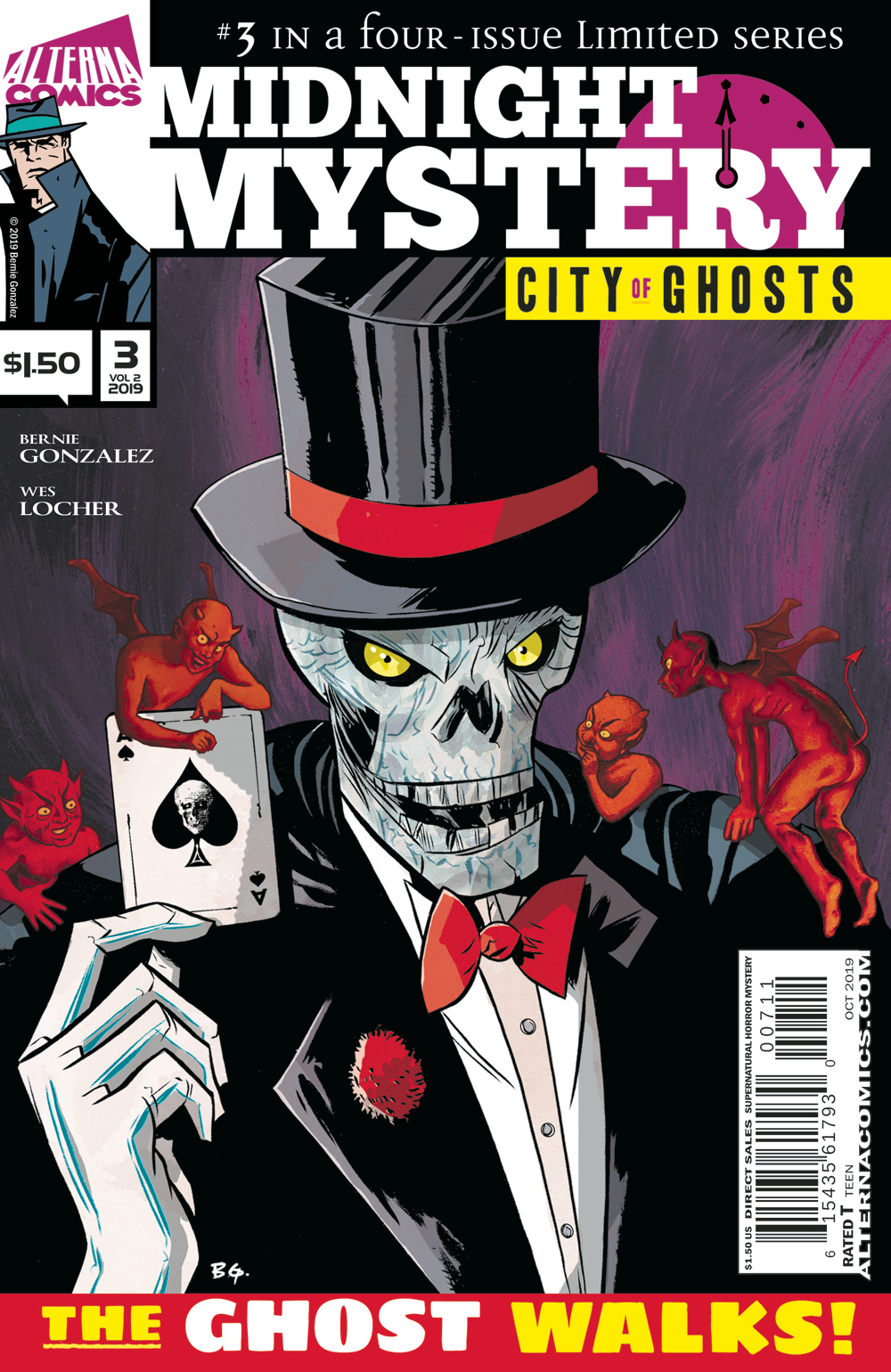 MIDNIGHT MYSTERY VOL 2 CITY OF GHOSTS #3