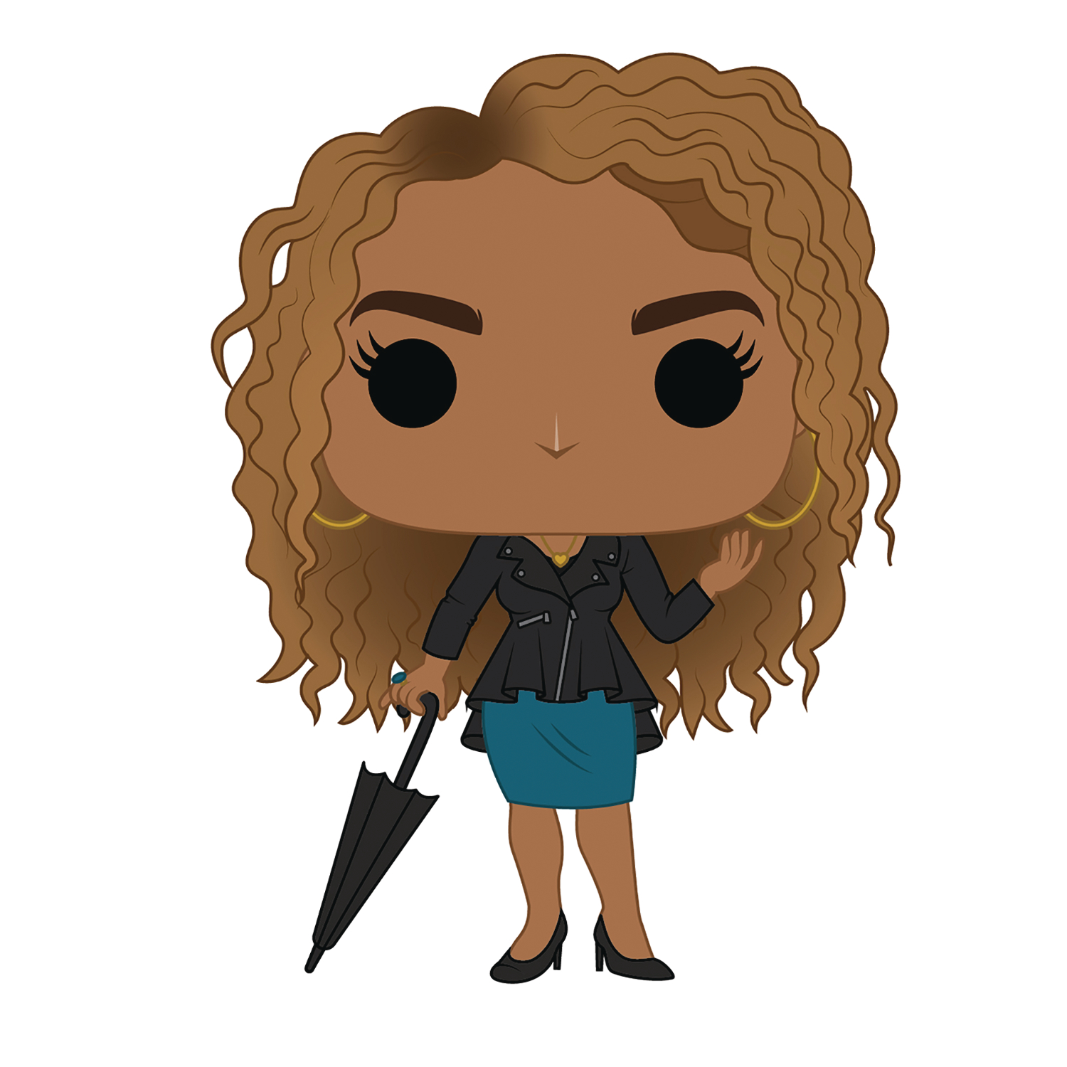 POP TV UMBRELLA ACADEMY ALLISON HARGREEVES VINYL FIG