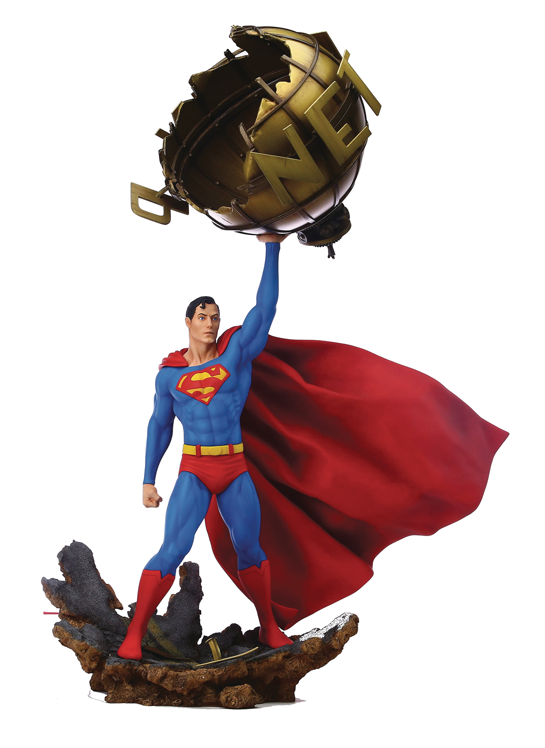 GRAND JESTER STUDIOS DC SUPERMAN 1:6 SCALE STATUE (O/A)