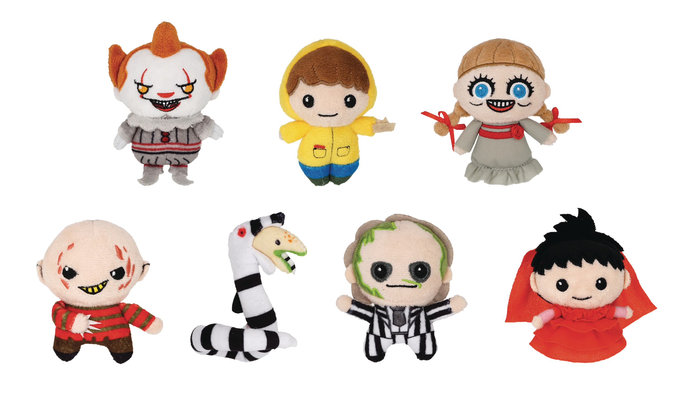 HORROR PLUSH KEYRING 24 PC BMB DIS