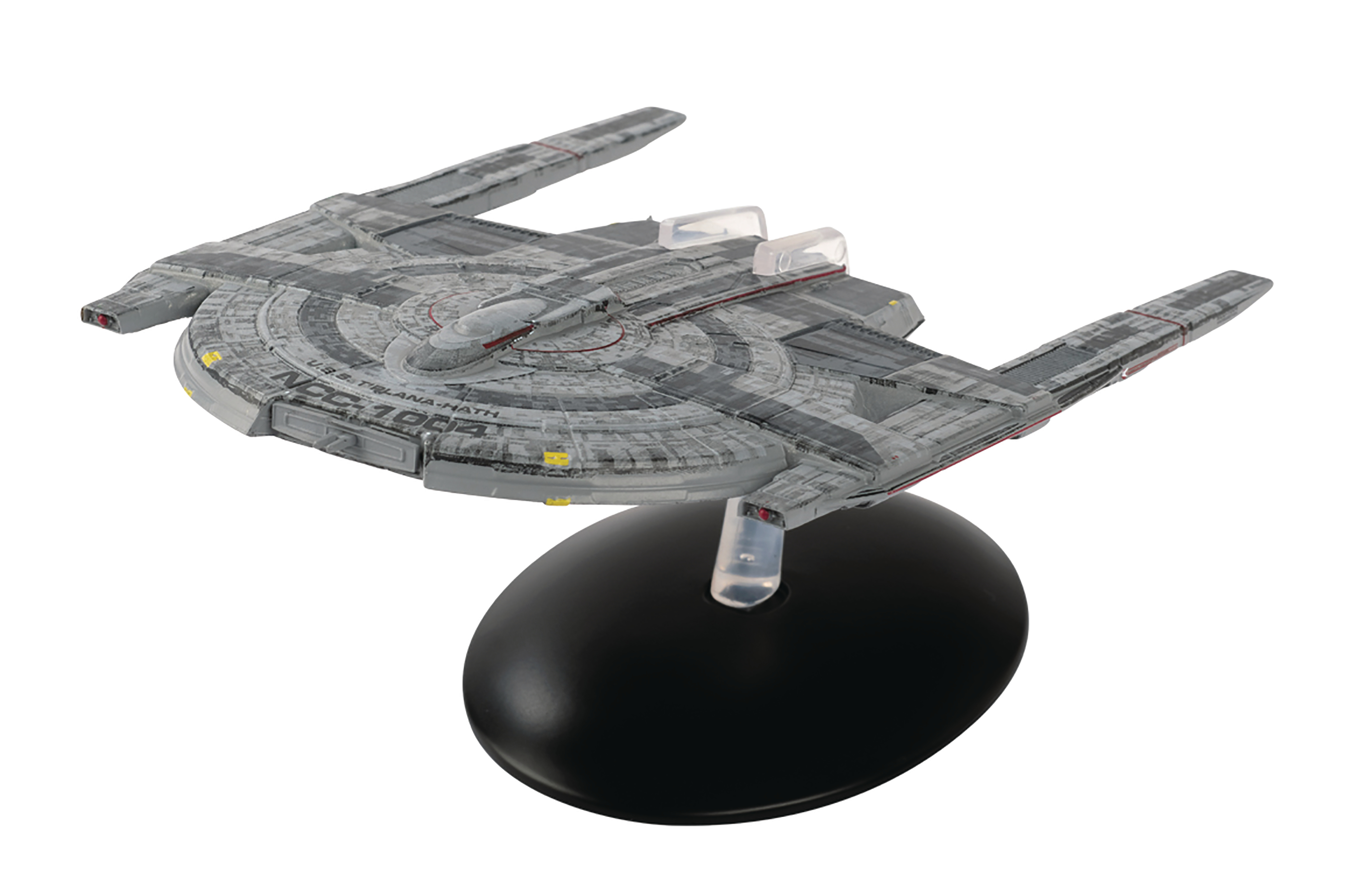 STAR TREK DISCOVERY FIG MAG #17 USS T`PLANA-HATH