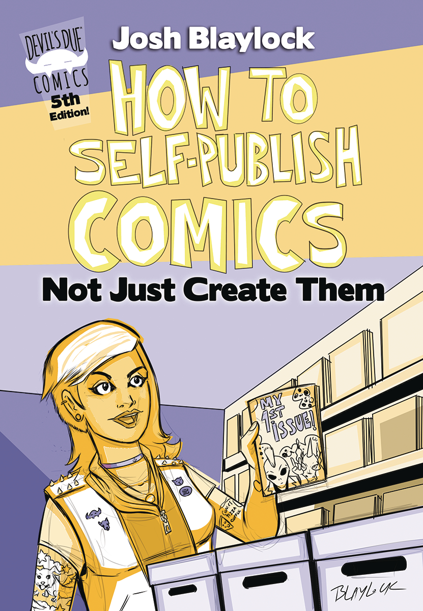 HOW TO SELF PUBLISH COMICS NOT JUST CREATE THEM 5TH ED (O/A)