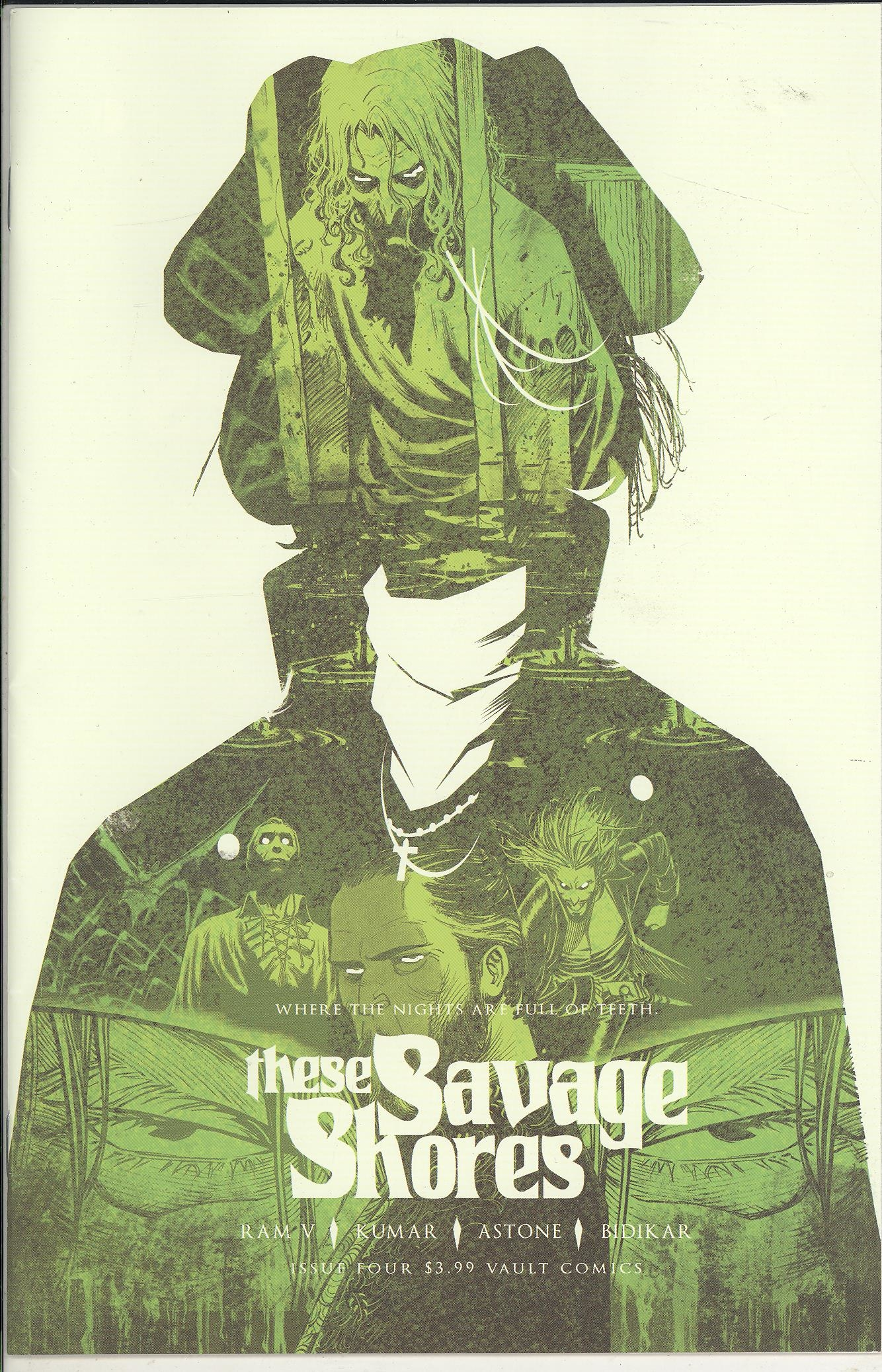 THESE SAVAGE SHORES #4 (2ND PTG VAR) (MR)