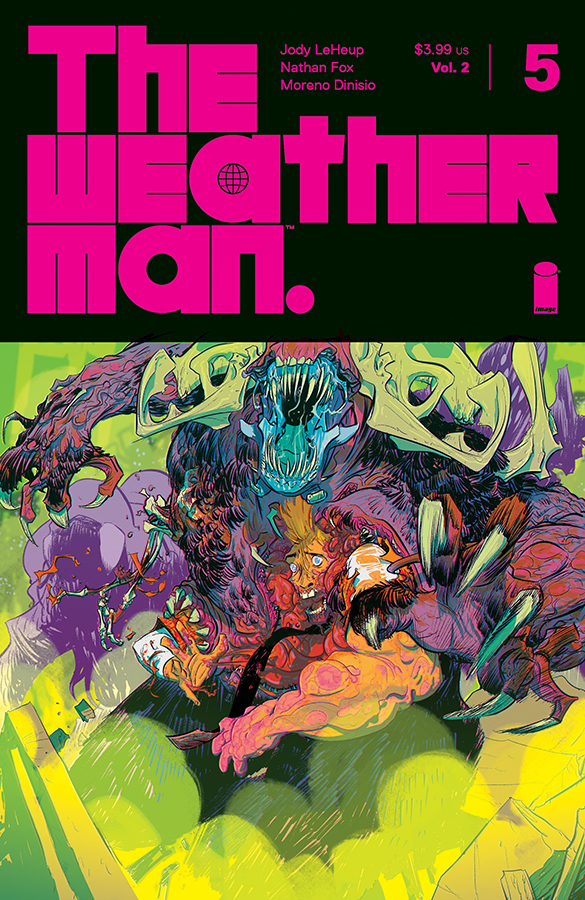 WEATHERMAN VOL 2 #5 CVR A FOX (MR)