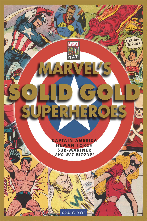 MARVEL SOLID GOLD SUPER HEROES HC