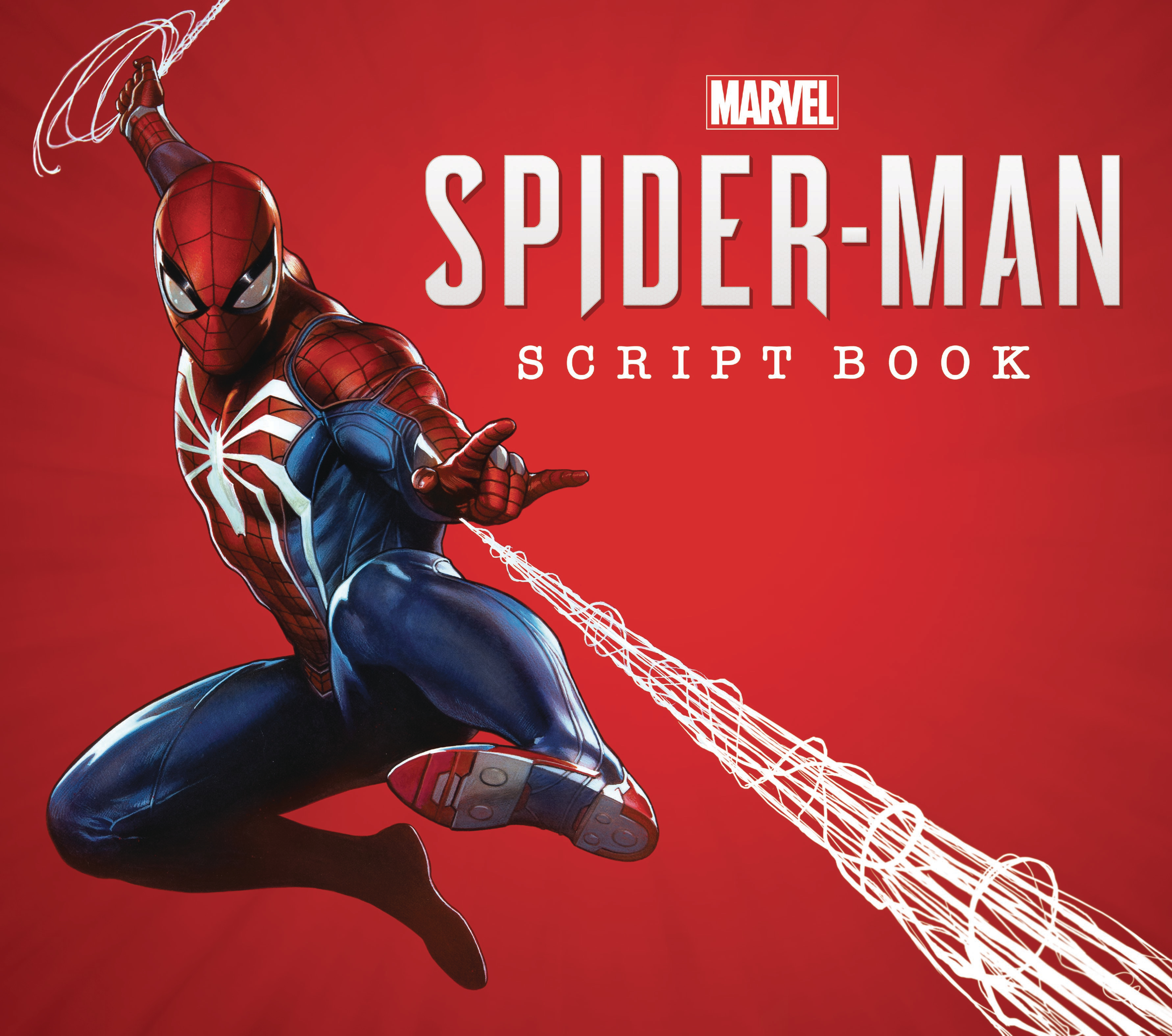 MARVELS SPIDER-MAN SCRIPT BOOK HC