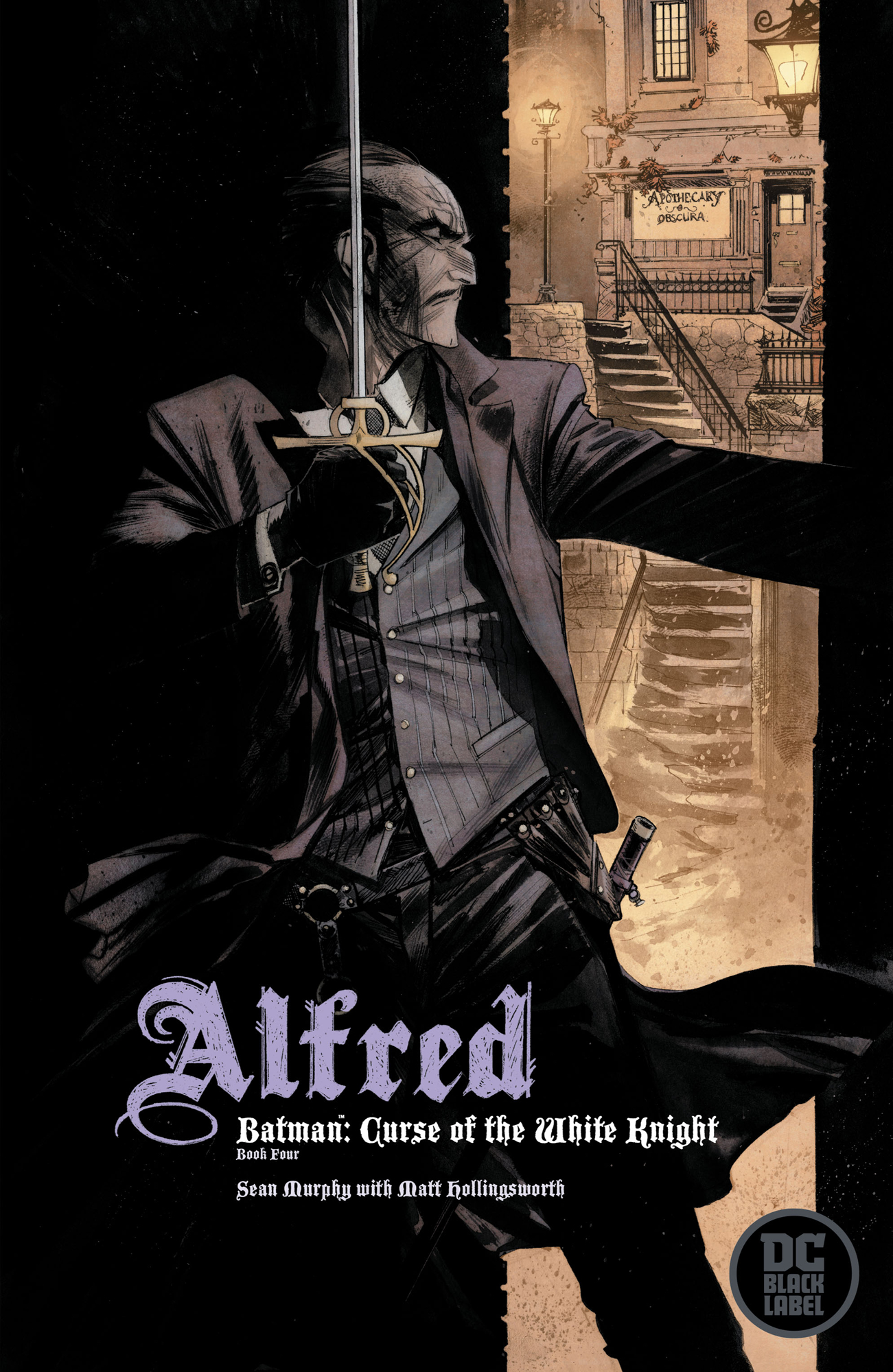 BATMAN CURSE OF THE WHITE KNIGHT #4 (OF 8) VAR ED