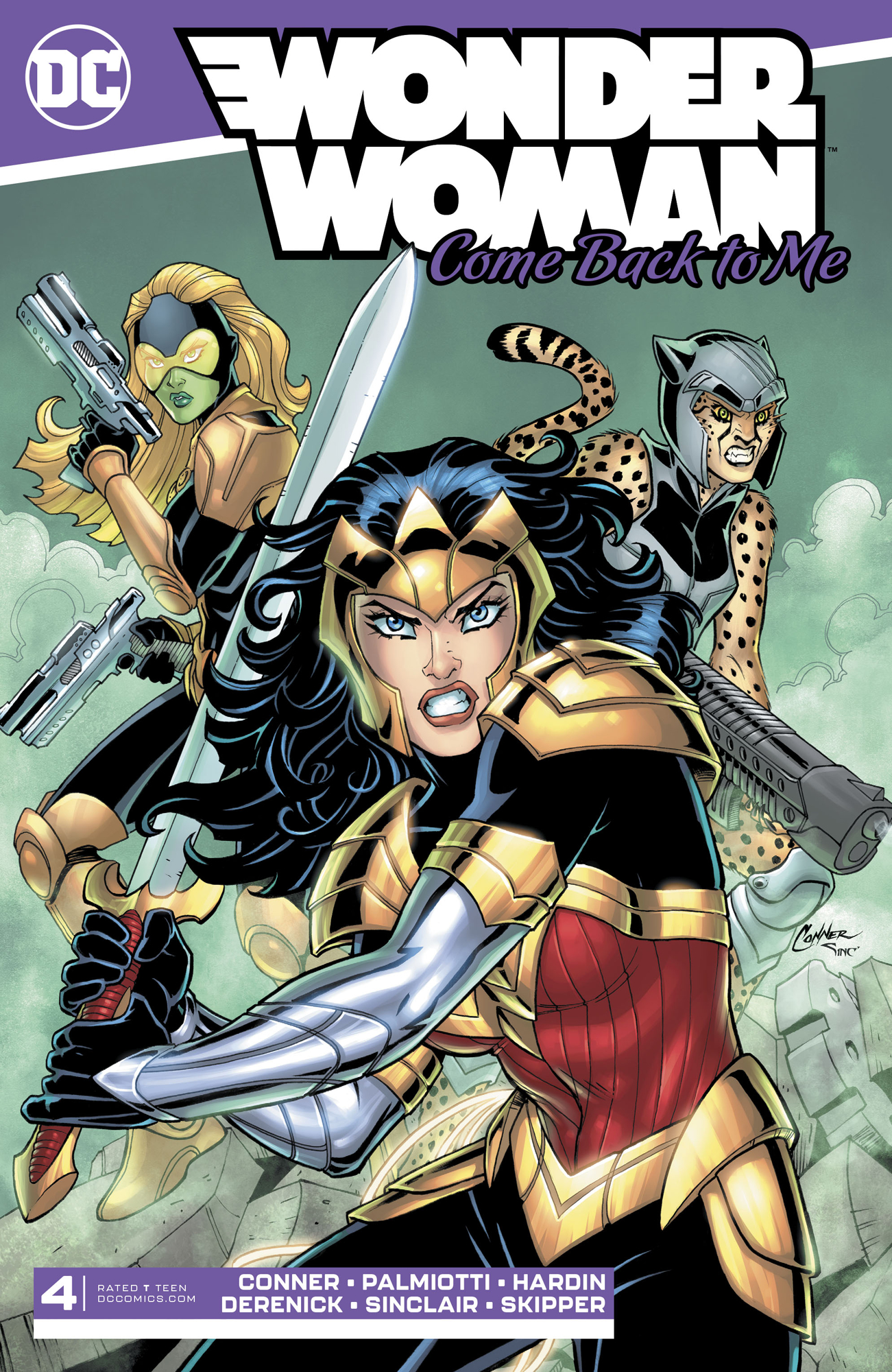 WONDER WOMAN COME BACK TO ME #4 (OF 6)