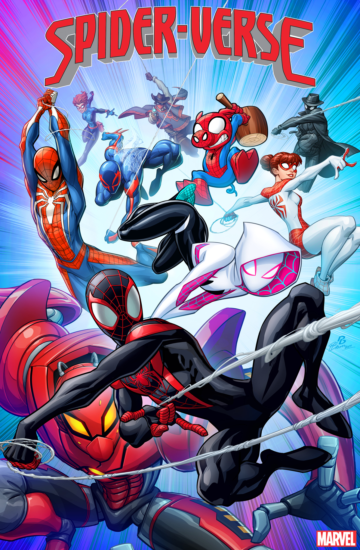 SPIDER-VERSE #1 PATRICK BROWN VAR