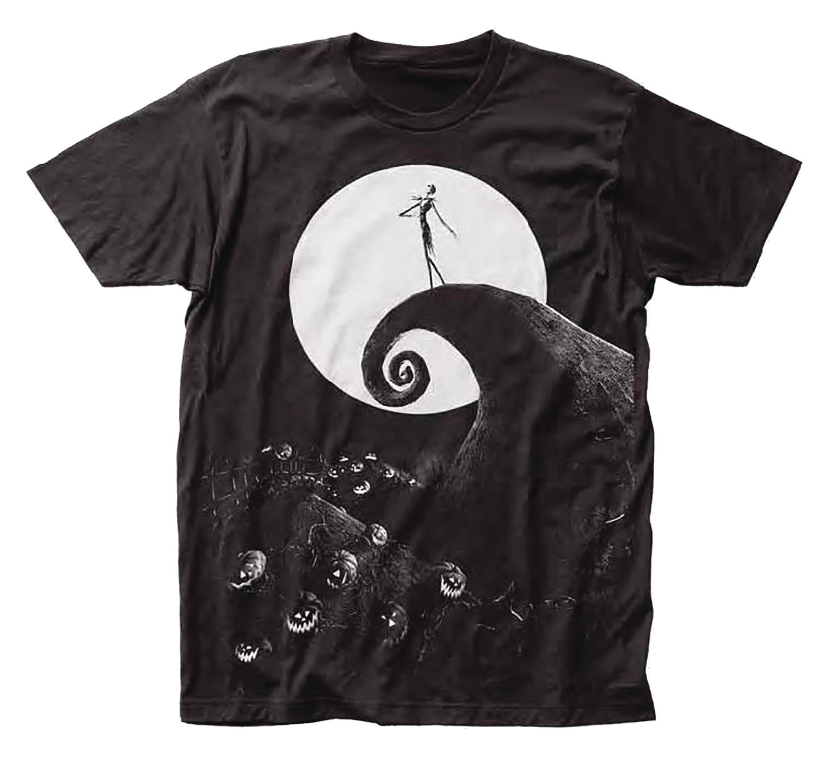 DISNEY NIGHTMARE BEFORE CHRISTMAS POSTER T/S XXL