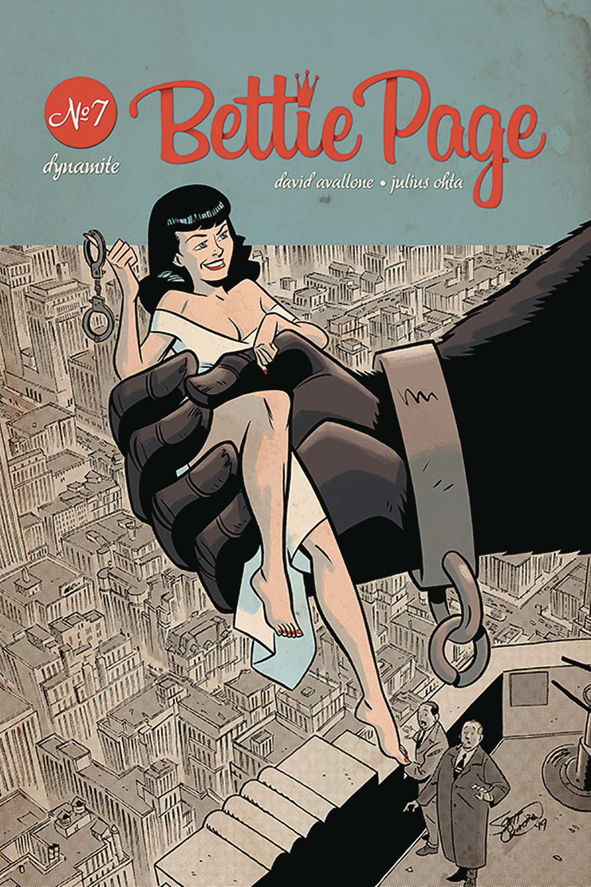 BETTIE PAGE UNBOUND #7 CVR B CHANTLER