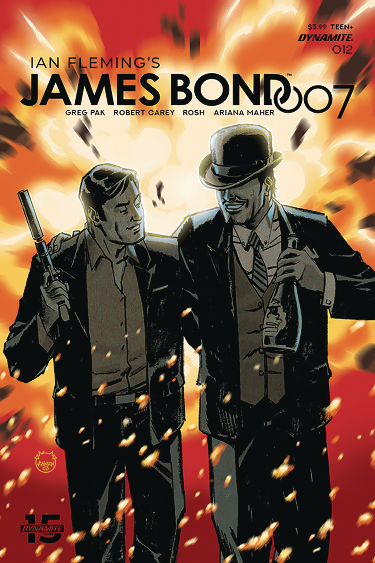 JAMES BOND 007 #12 CVR A JOHNSON