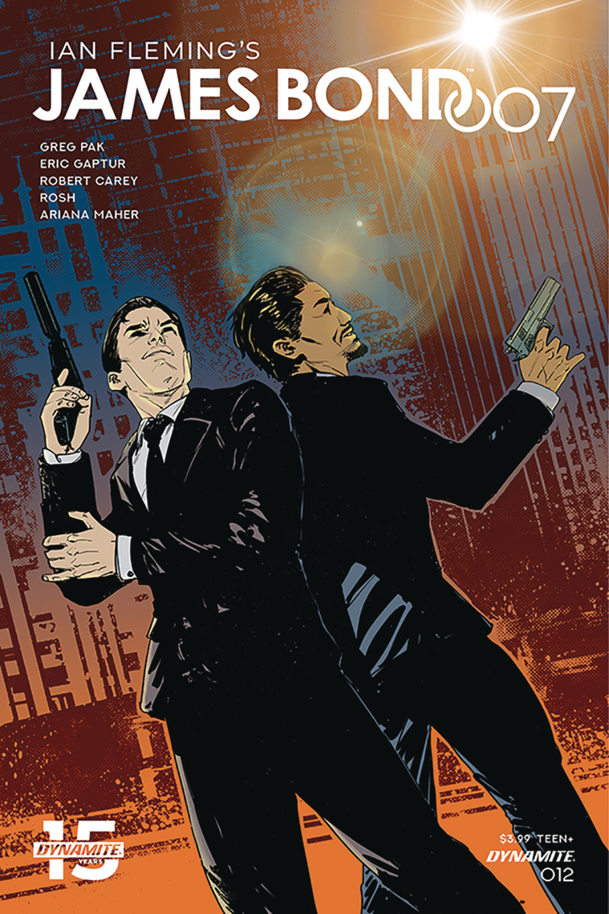 JAMES BOND 007 #12 CVR D CAREY