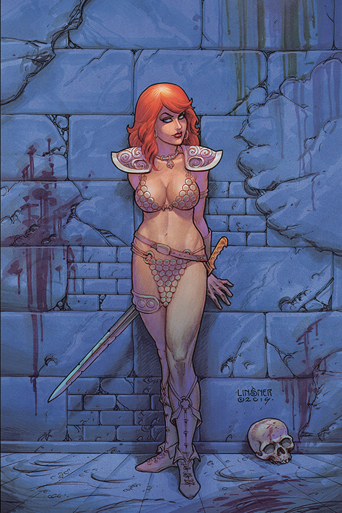 RED SONJA #9 LINSNER VIRGIN CVR
