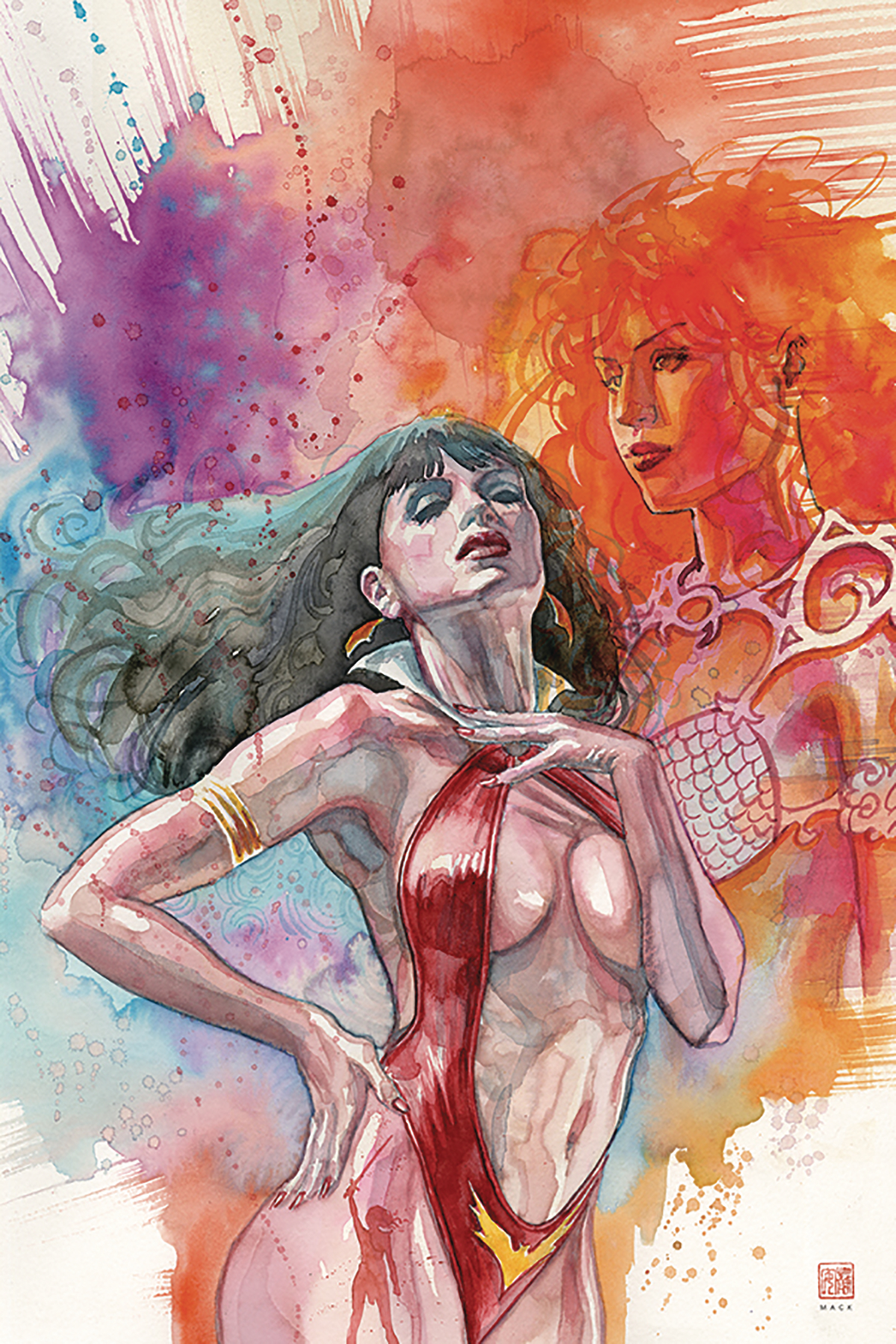 RED SONJA VAMPIRELLA #2 MACK VIRGIN CVR