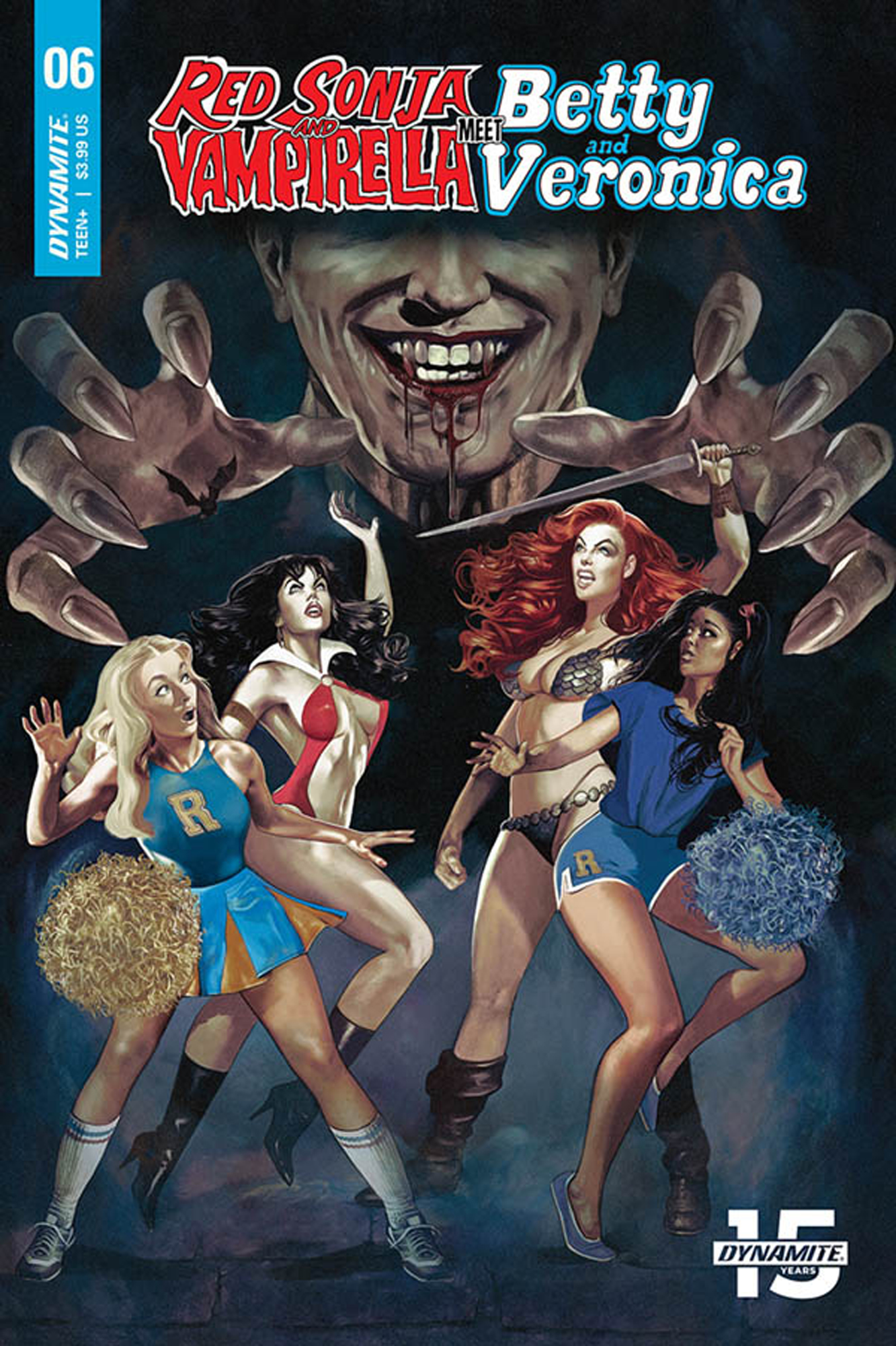 RED SONJA VAMPIRELLA BETTY VERONICA #6 CVR A DALTON