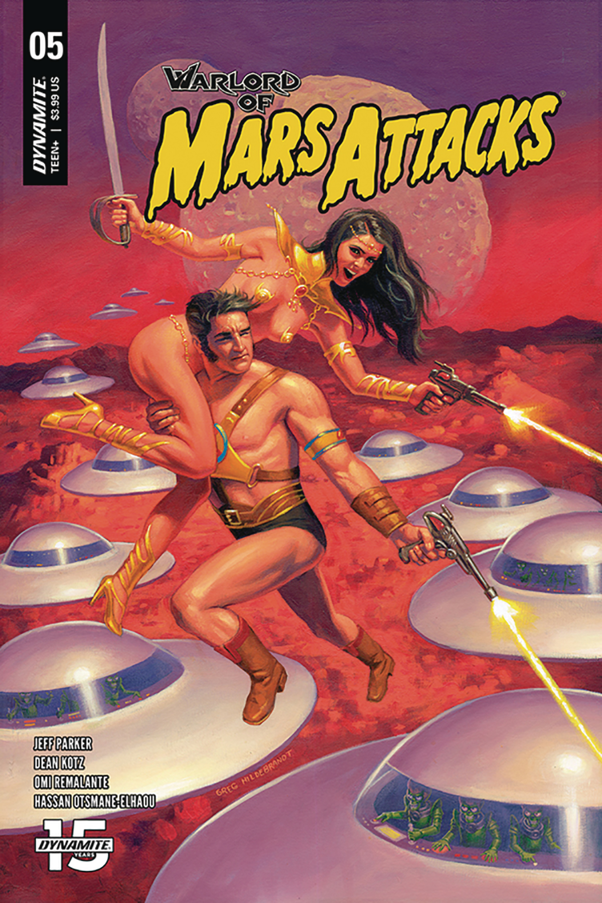WARLORD OF MARS ATTACKS #5 CVR A HILDEBRANDT
