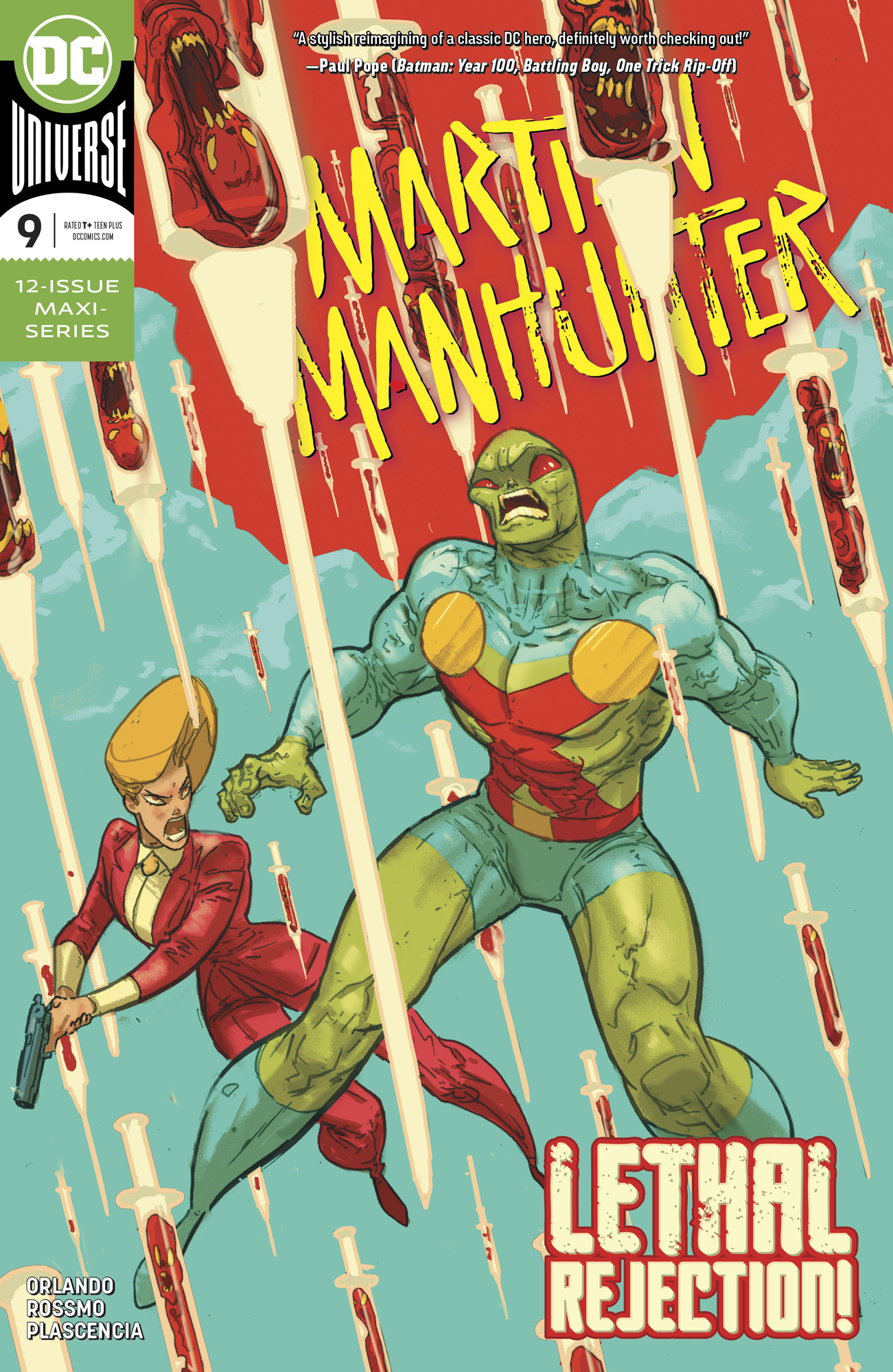 MARTIAN MANHUNTER #9 (OF 12)