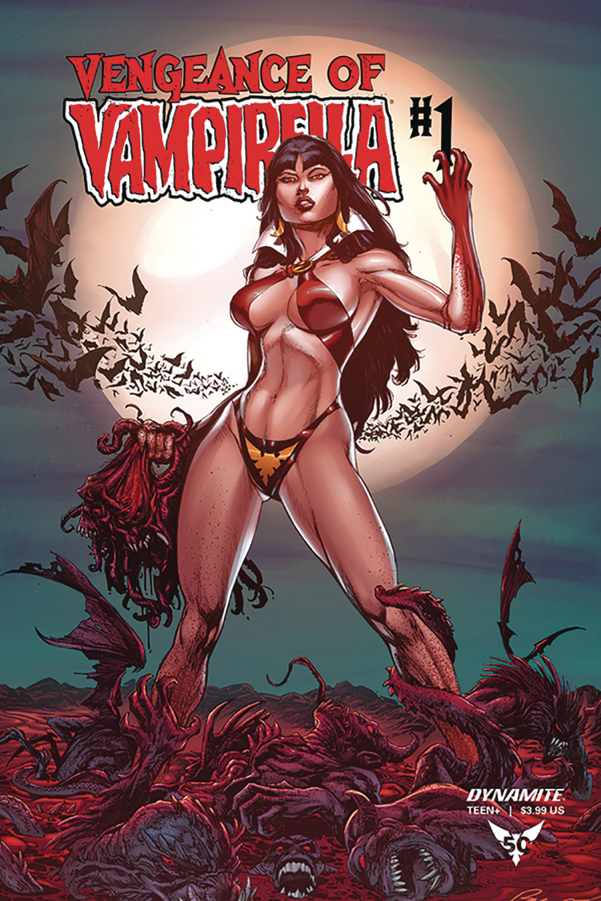 VENGEANCE OF VAMPIRELLA #1 10 COPY BUZZ INCV