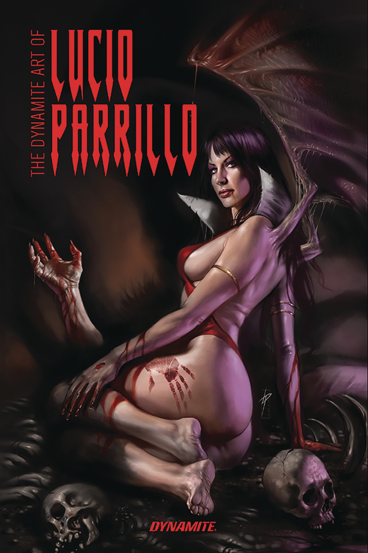DYNAMITE ART OF LUCIO PARRILLO HC