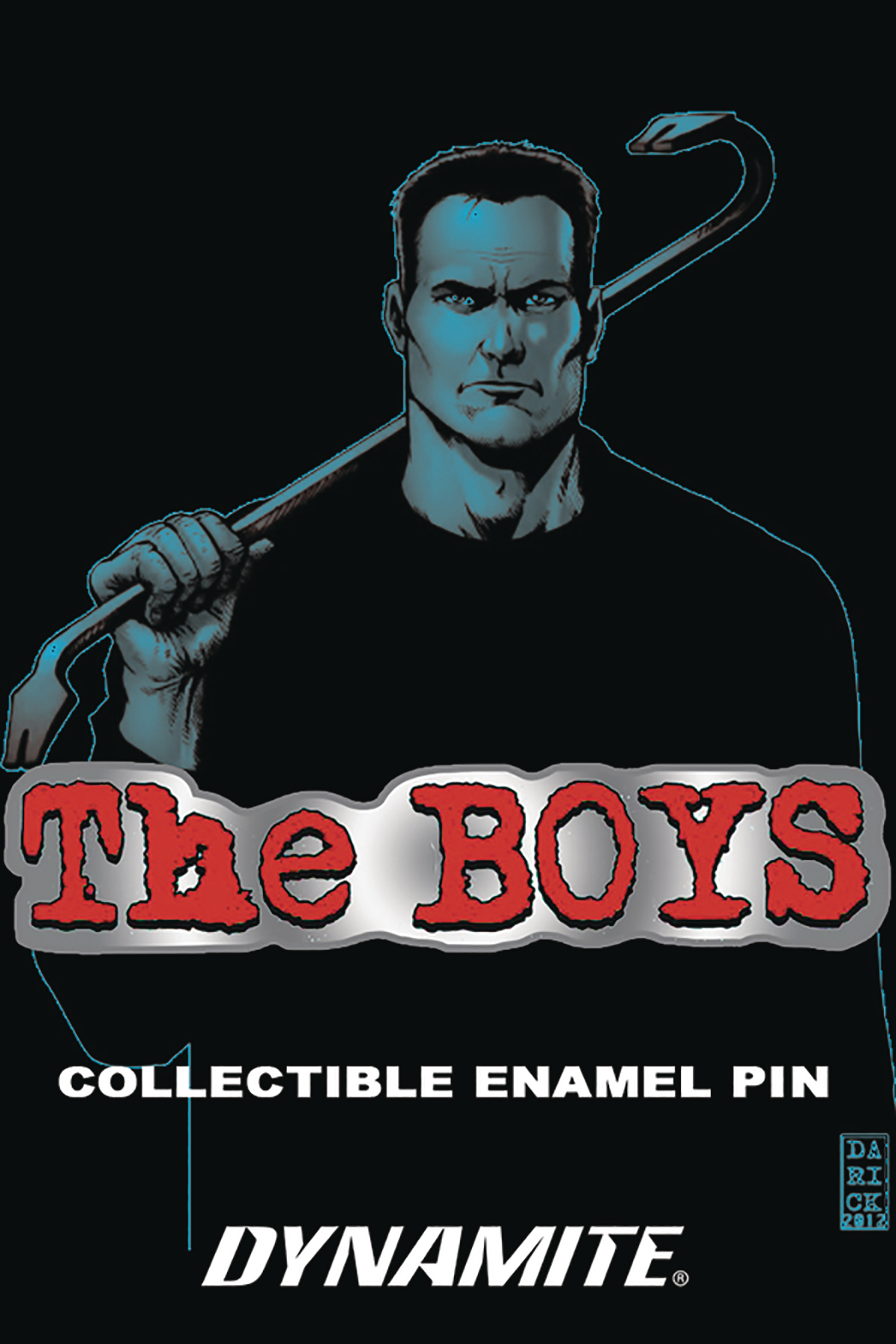 BOYS LOGO ENAMEL PIN