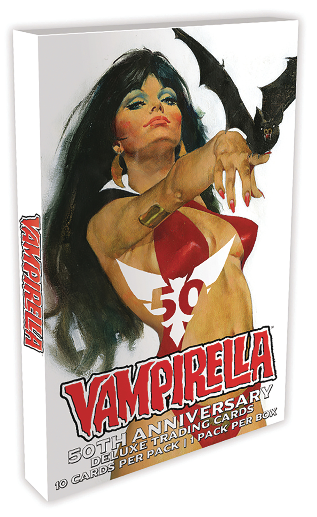 VAMPIRELLA 50TH TRADING CARDS BOX (12 PACKS) (MR)