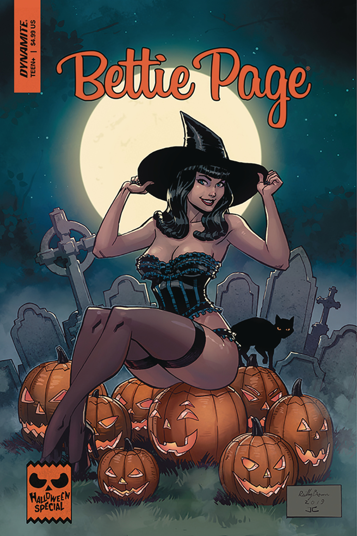 BETTIE PAGE HALLOWEEN SPECIAL ONE SHOT CVR B BROWN