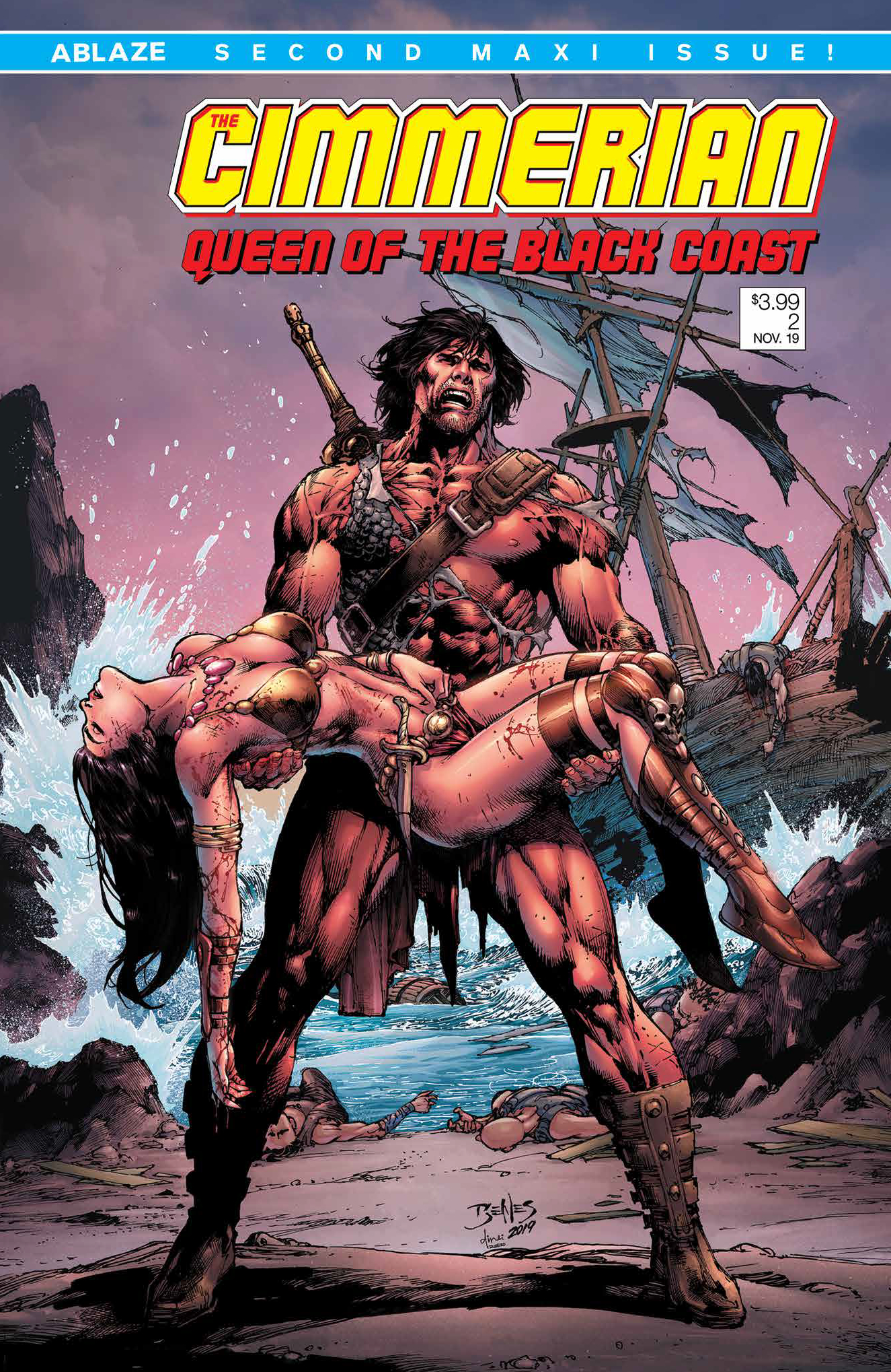 CIMMERIAN QUEEN OF BLACK COAST #2 CVR C ED BENES (MR)