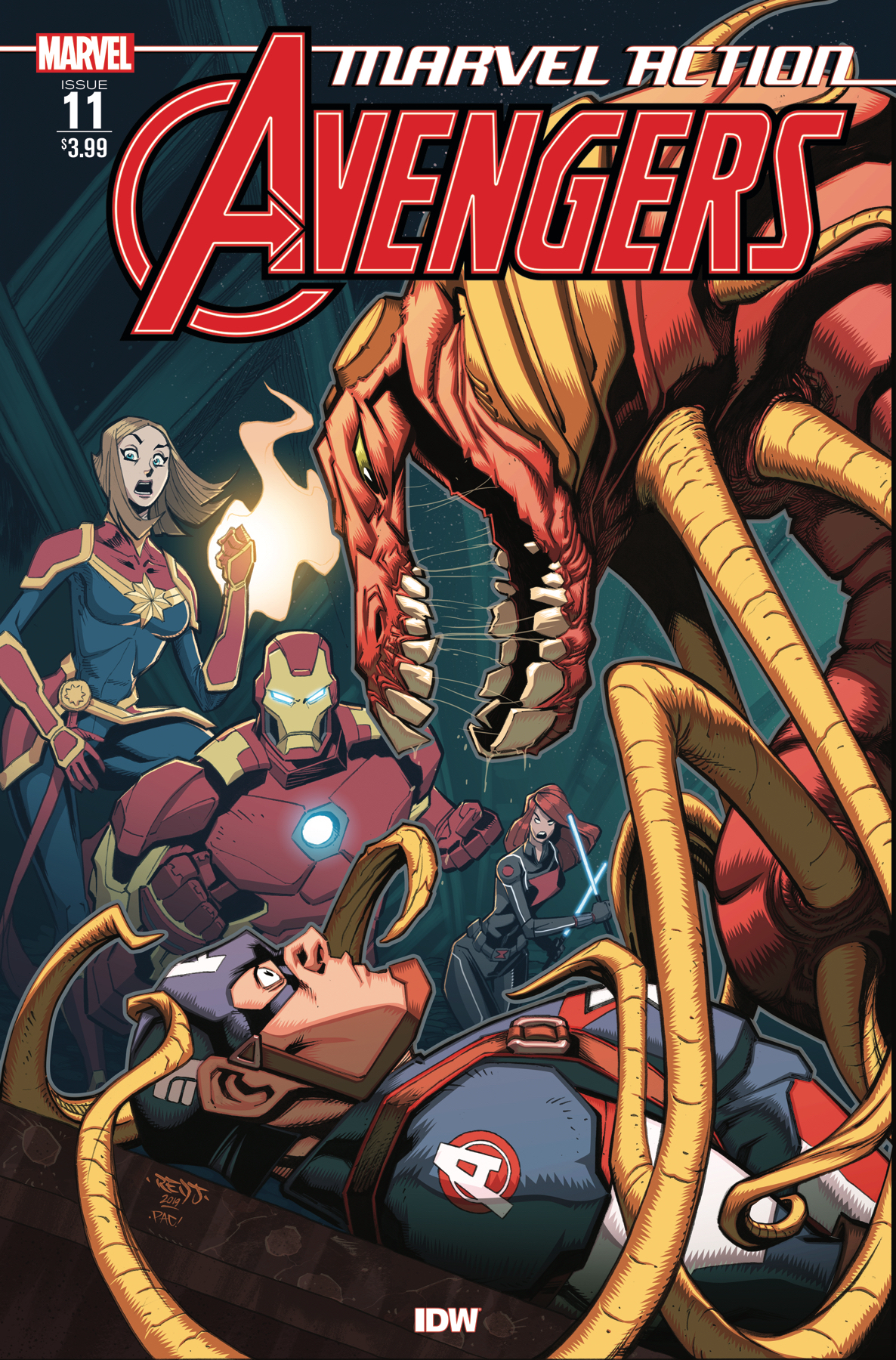 MARVEL ACTION AVENGERS #11 FIORITO