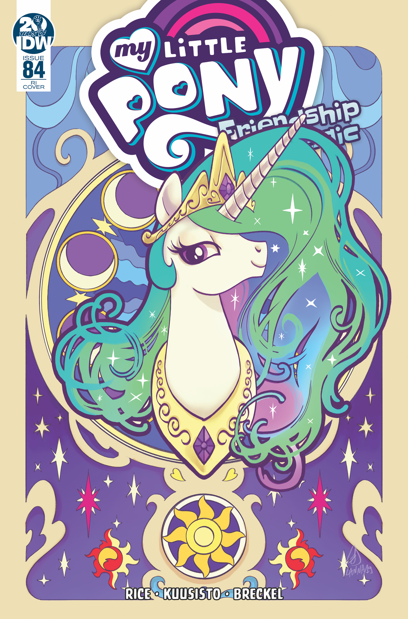 MY LITTLE PONY FRIENDSHIP IS MAGIC #84 10 COPY INCV SOUVANNY