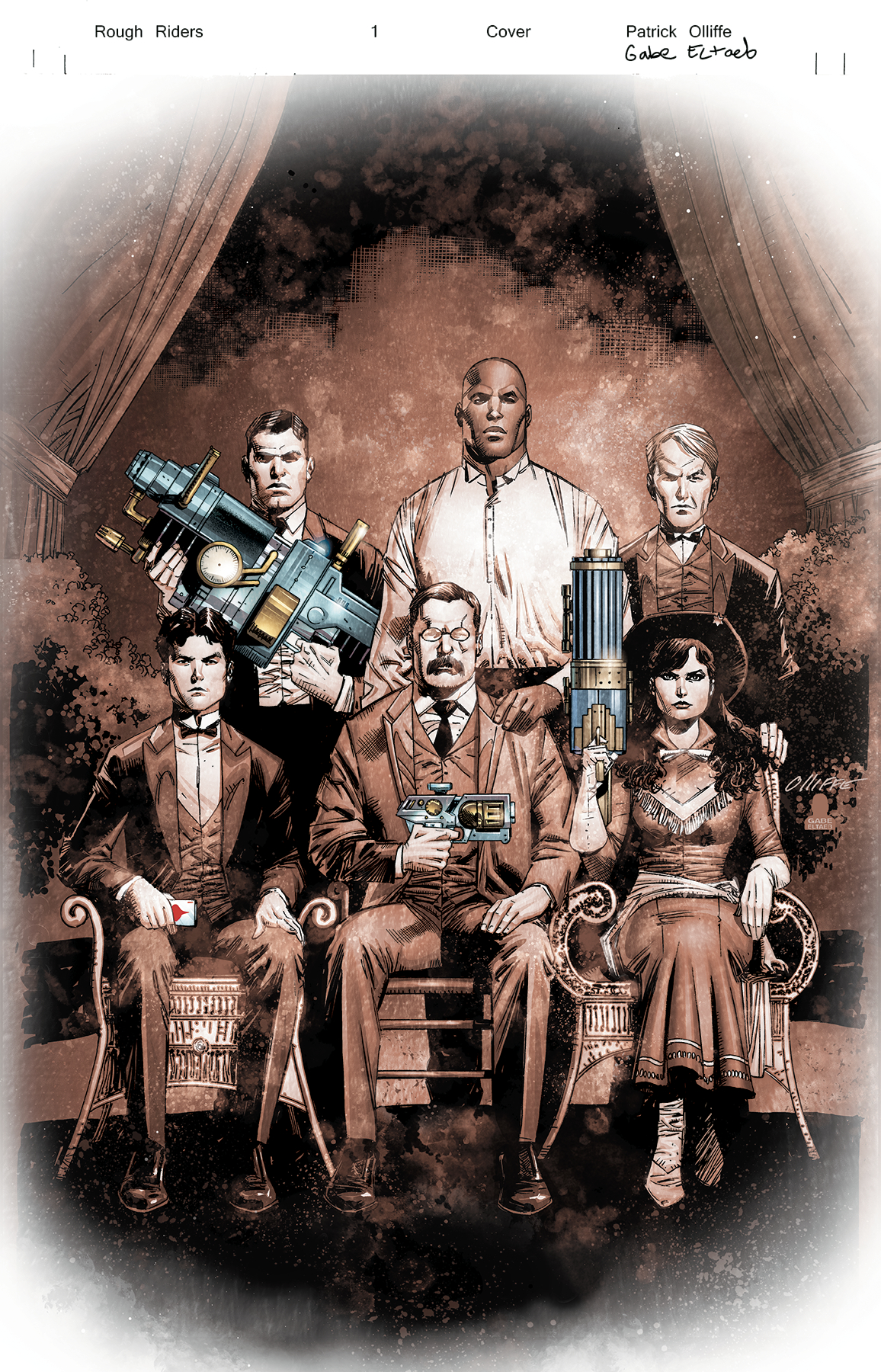 ROUGH RIDERS COMPLETE SERIES HC