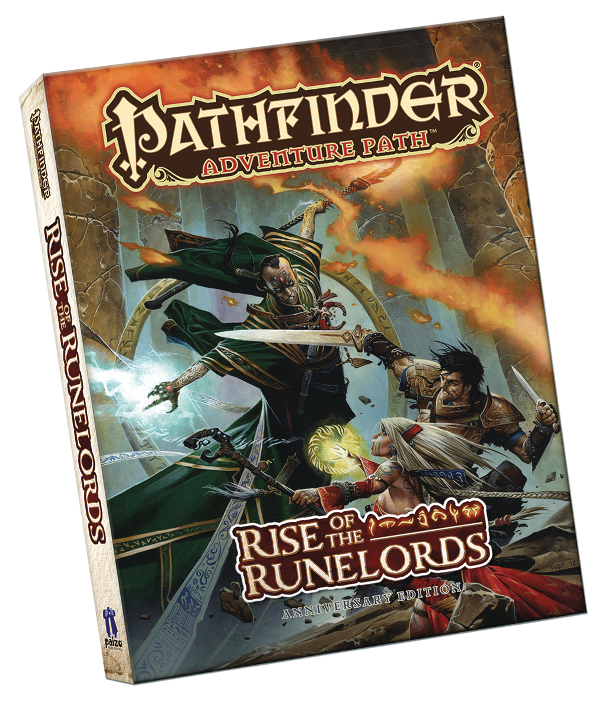 PATHFINDER RPG RISE RUNELORDS ANNIVERSARY POCKET ED