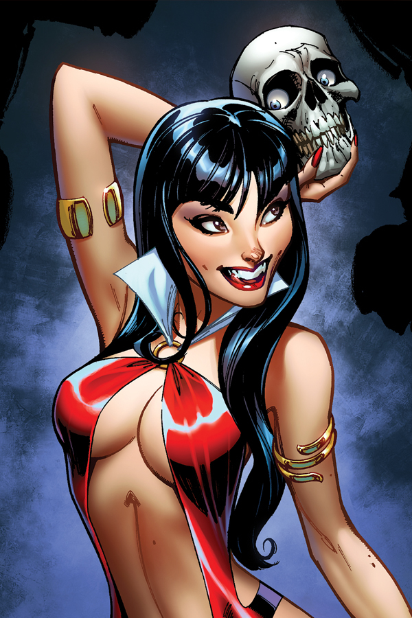 VAMPIRELLA #2 25 COPY CAMPBELL VIRGIN SNEAK PEEK FOC INCV (N
