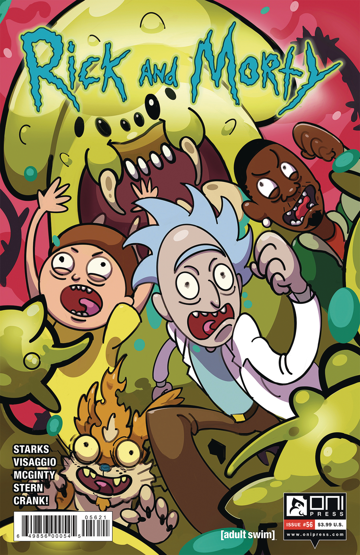 Rick And Morty Begins Final Mega-Story, The Rickoning, in Oni Press 2019 November Solicitations
