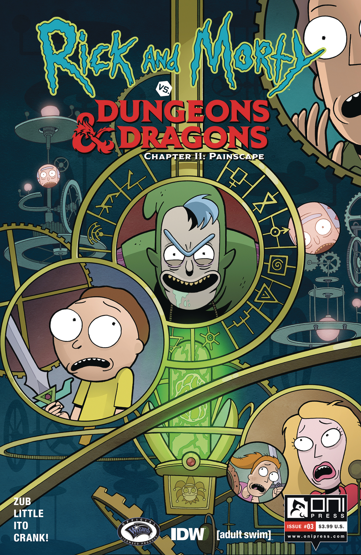 RICK & MORTY VS D&D II PAINSCAPE #3 CVR A ITO (MR)