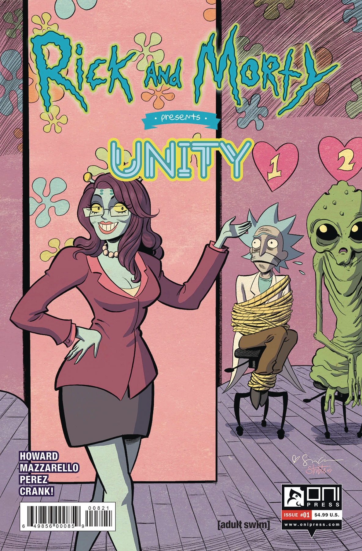 RICK AND MORTY PRESENTS UNITY #1 CVR B GRACE (MR)