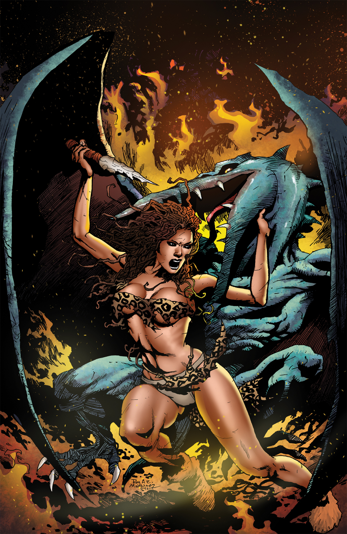 PELLUCIDAR WINGS OF DEATH #3 CVR C LTD ED VIRGIN VAR