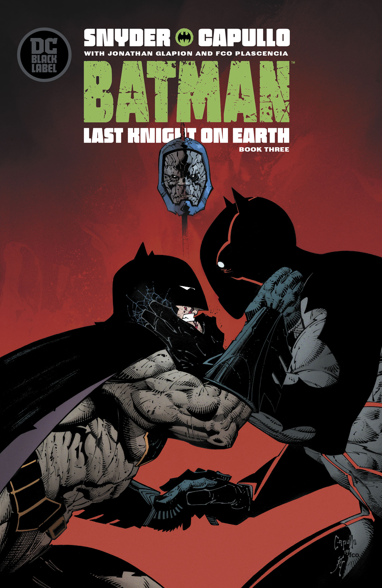 BATMAN LAST KNIGHT ON EARTH #3 (OF 3) (MR)