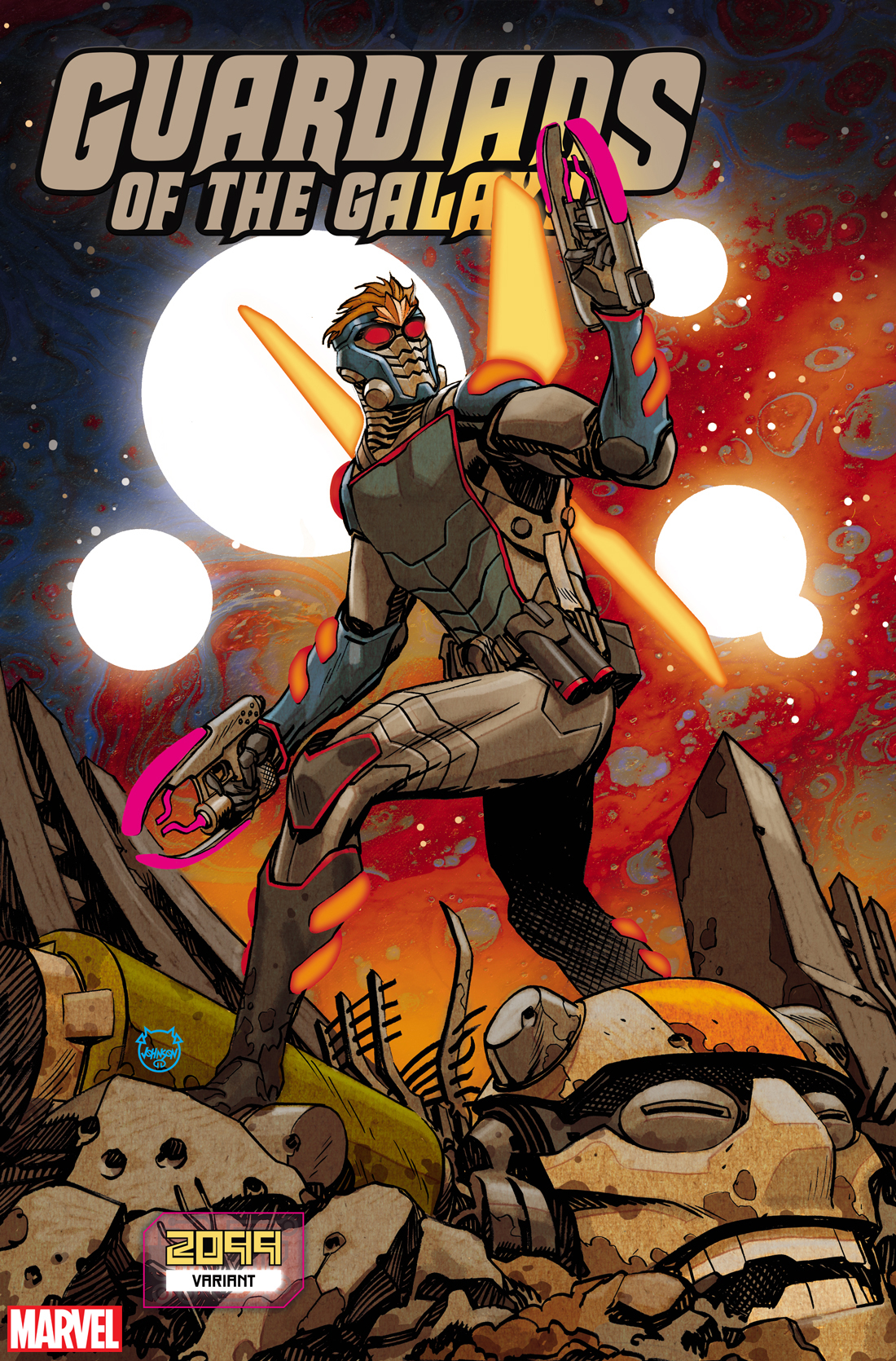 GUARDIANS OF THE GALAXY #11 JOHNSON 2099 VAR