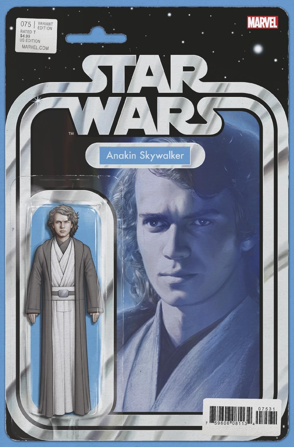 STAR WARS #75 CHRISTOPHER ACTION FIGURE VAR