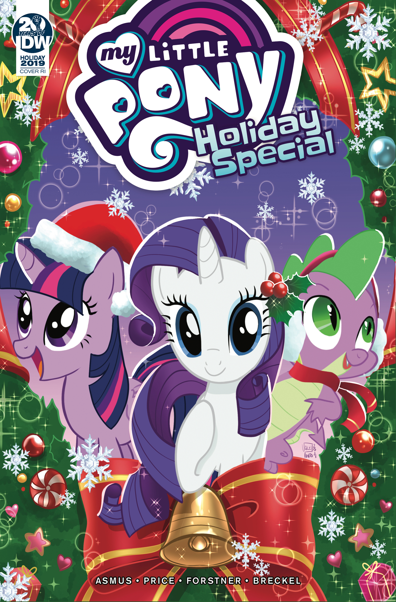 MY LITTLE PONY HOLIDAY SPECIAL 10 COPY INCV PINTO